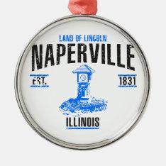 Naperville Metal Ornament at Zazzle