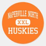 Naperville North - Huskies - High - Naperville Classic Round Sticker