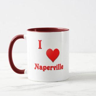 Naperville -- Red Mug
