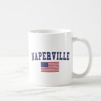 Naperville US Flag Coffee Mug