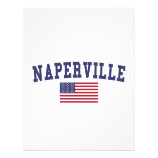 Naperville US Flag Letterhead