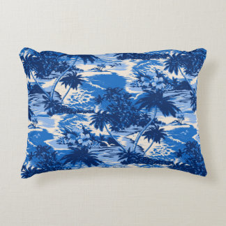 Napili Bay Hawaiian Island Scenic Accent Pillow