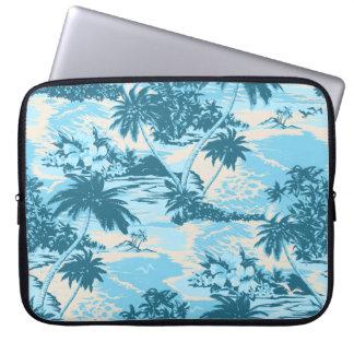 Napili Bay Hawaiian Neoprene Wetsuit Computer Sleeve