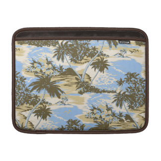 Napili Bay Hawaiian Rickshaw MacBook Case