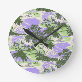 Napili Bay Hawaiian Wall Clocks