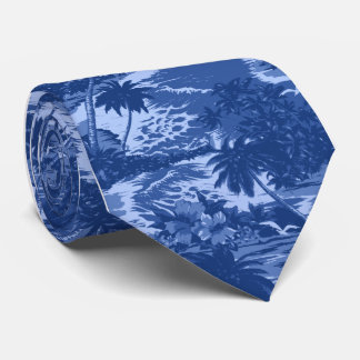 Napili Bay Tropical Hawaiian Neckties