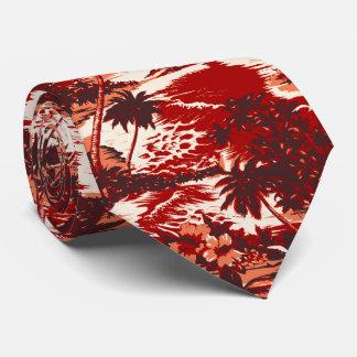 Napili Bay Tropical Hawaiian Two-sidedPrinted Tie