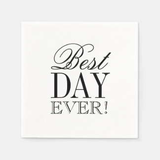 Napkin - Best Day Ever