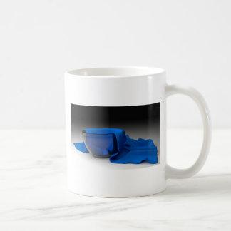 NAPKIN IN A GLASS COFFEE MUG