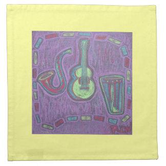 Napkin-Jazz it Up Printed Napkin