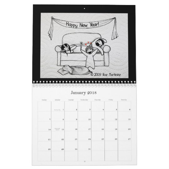 Napkin People Calendar