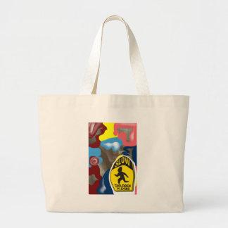 Napkin Slow Children Playing Large Tote Bag