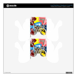 Napkin Slow Children Playing PS3 Controller Decals