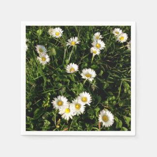 Napkin with wild flowers picture