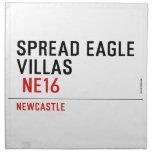 spread eagle  villas   Napkins