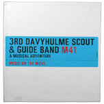 3rd Davyhulme Scout & Guide Band  Napkins