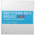 boothtown boys  brigade  Napkins