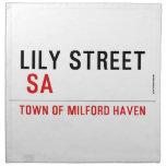 Lily STREET   Napkins