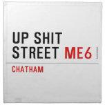 Up Shit Street  Napkins