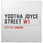 YOOTHA JOYCE Street  Napkins