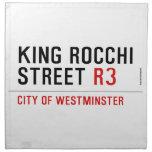 king Rocchi Street  Napkins