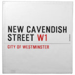 New Cavendish  Street  Napkins