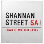 Shannan Street  Napkins