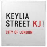 Keylia Street  Napkins
