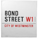 BOND STREET  Napkins
