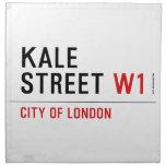 Kale Street  Napkins