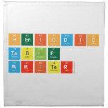 Periodic Table Writer  Napkins