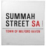 Summah Street  Napkins