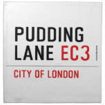 PUDDING LANE  Napkins