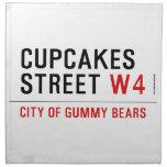 cupcakes Street  Napkins