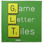 Game Letter Tiles  Napkins