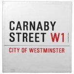 CARNABY STREET  Napkins