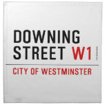 downing street  Napkins