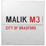 Malik  Napkins