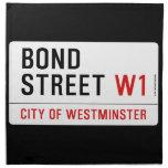 Bond Street  Napkins