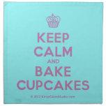 [Cupcake] keep calm and bake cupcakes  Napkins