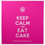 [Cupcake] keep calm and eat cake  Napkins