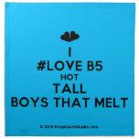 [Two hearts] i #love b5 hot tall boys that melt  Napkins