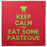 [Chef hat] keep calm and eat some pasteque  Napkins