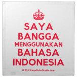 [Crown] saya bangga menggunakan bahasa indonesia  Napkins