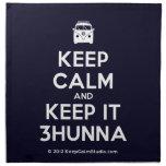 [Campervan] keep calm and keep it 3hunna  Napkins