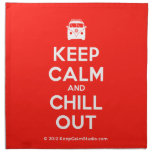 [Campervan] keep calm and chill out  Napkins