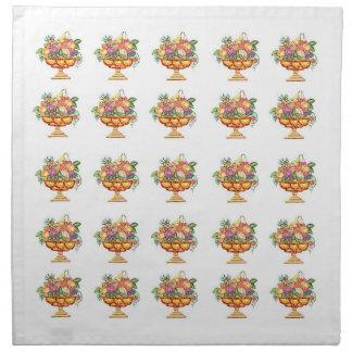 Napkins - Italian Mosaic - Fruit Vase