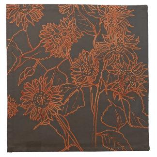 Napkins-Splash of Sunflowers Napkin