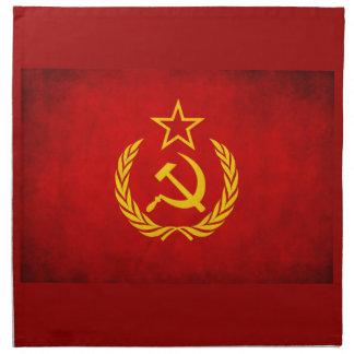 napkins ussr cccp communist red flag