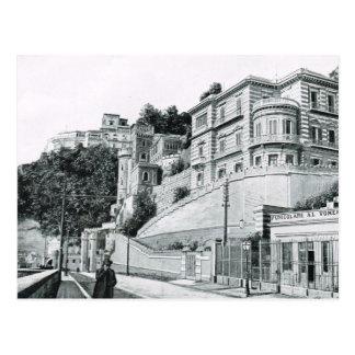 Naples, 1908, Corso Vittorio Emmanuelle Postcard